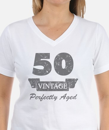 50th Birthday Vintage Shirt