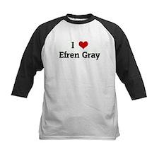 I Love Efren Gray Tee