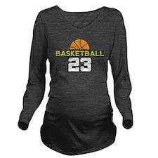 Custom Basketball Player 23 Long Sleeve Maternity