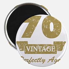 70th Birthday Vintage Magnet