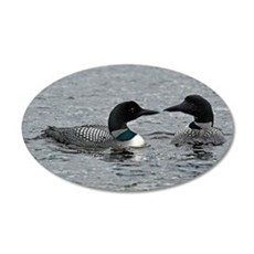 2 Loons Wall Decal