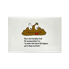 Friendship turd Magnets