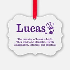 The Meaning of Lucas Ornament