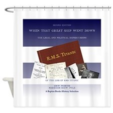 The Great Ship Titanic Shower Curtain