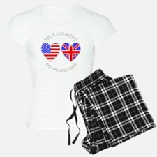 UK USA Country Heritage Pajamas