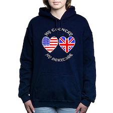 UK USA Country Heritage Hooded Sweatshirt