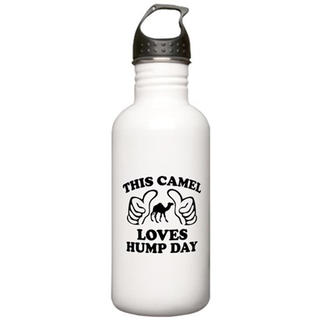 This Camel Loves Hump Day Stainless Water Bottle 1