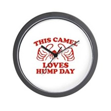This Camel Loves Hump Day Wall Clock
