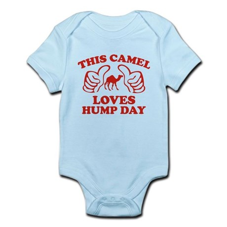 This Camel Loves Hump Day Infant Bodysuit