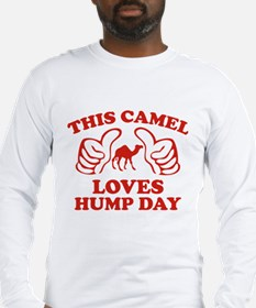 This Camel Loves Hump Day Long Sleeve T-Shirt