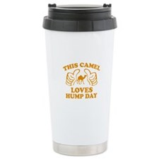This Camel Loves Hump Day Travel Mug