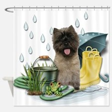 RainPlay.png Shower Curtain