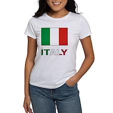 Italian Flag and Italy Tee