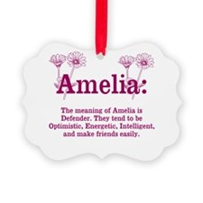 The Meaning of Amelia Ornament