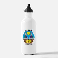 PIGEON SQUIBS Water Bottle