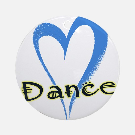 Dance Heart Ornament (Round)