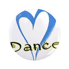"""Dance Heart 3.5"""" Button"""
