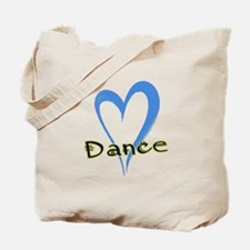 Dance Heart Tote Bag