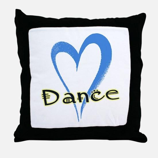 Dance Heart Throw Pillow