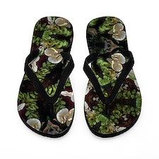 Orchid jungle Flip Flops