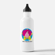 FANCY PIGEONS ROCK Water Bottle