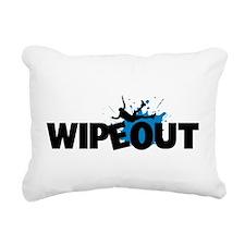 Wipeout Rectangular Canvas Pillow