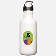 MALE PIGEON ROSE (Green Oval) Water Bottle