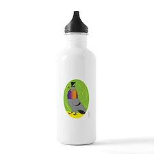 MALE PIGEON STRUTTING Water Bottle