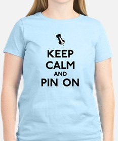 Keep Calm and Pin On T-Shirt