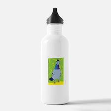WATCHING FEMALE PIGEON (Boxy) Water Bottle