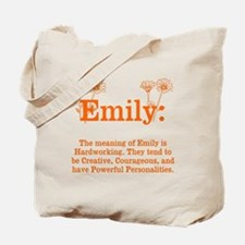 The Meaning of Emily Tote Bag
