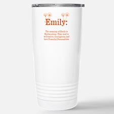 The Meaning of Emily Travel Mug