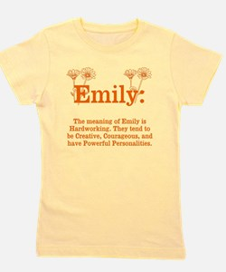 The Meaning of Emily Girl's Tee