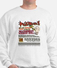 Weatherman Voodoo Doll Sweatshirt