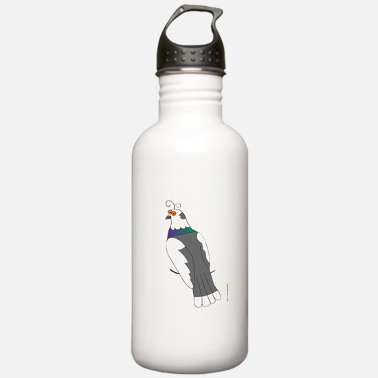 PIED PIGEON Water Bottle