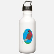 RARE RED PIGEON (Scenic) Water Bottle