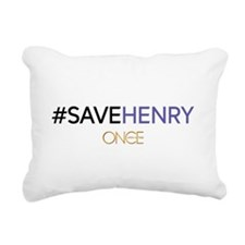 #SAVEHENRY Rectangular Canvas Pillow