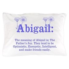 The Meaning of Abigail Pillow Case