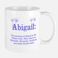The Meaning of Abigail Mugs