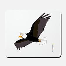AMERICAN BALD EAGLE Mousepad