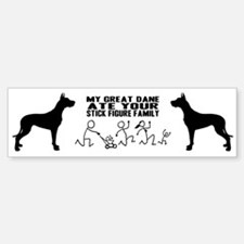Great Dane Bumper Bumper Bumper Sticker