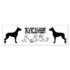 Great Dane Bumper Bumper Sticker