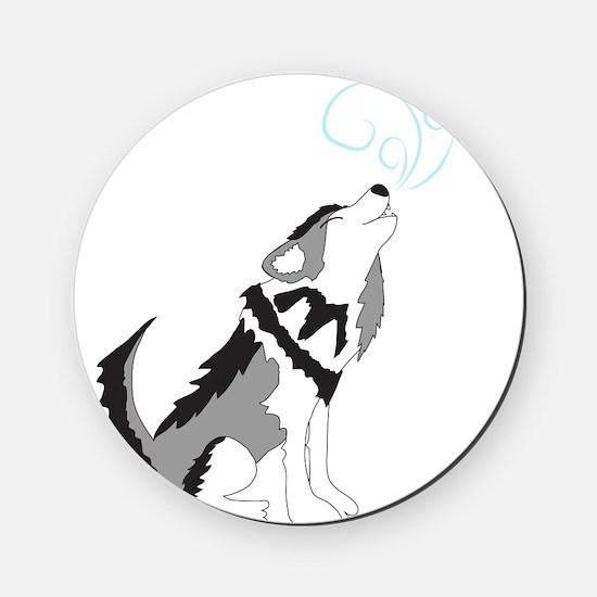 ZIGGY the WOLF Cork Coaster