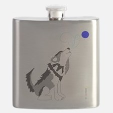 ZIGGY the WOLF Flask