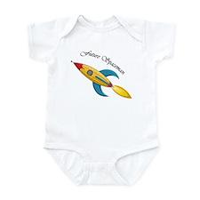 Future Spaceman Rocket Ship Infant Bodysuit