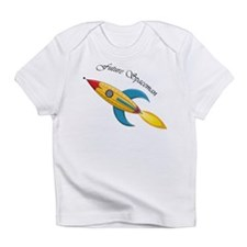 Future Spaceman Rocket Ship Infant T-Shirt