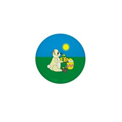 Easter Bunny Mini Button (10 pack)