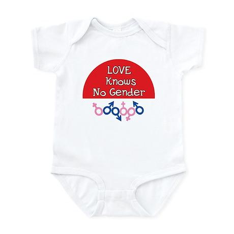 LOVE KNOW NO GENDER Infant Bodysuit