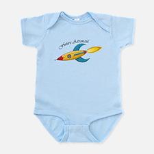 Future Astronaut Rocket Ship Infant Bodysuit