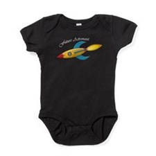 Future Astronaut Rocket Ship Baby Bodysuit